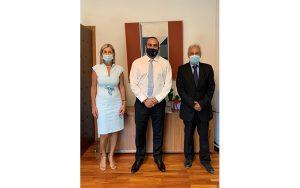 Ο Υπουργός Μεταφορών, Επικοινωνιών και Έργων συναντήθηκε με αντιπροσωπεία από την Επιτροπή Ναυτιλίας και Αεροπλοΐας του Παγκύπριου Δικηγορικού Συλλόγου