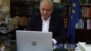 Ο Πρόεδρος της Επιτροπής Νομικών ενημέρωσε την Υπουργό Δικαιοσύνης ότι προγραμμάτισε συζήτηση νομοσχεδίων