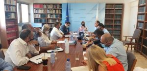 Συνάντηση Υπουργού Δικαιοσύνης και Δημοσίας Τάξεως κας Στέφης Δράκου με τον Σύνδεσμο Αστυνομίας Κύπρου
