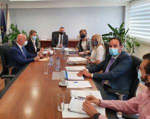 Συνάντηση της Υπουργού Δικαιοσύνης με τον Πρόεδρο του ΔΗΚΟ και μέλη της Κοινοβουλευτικής Επιτροπής Νομικών
