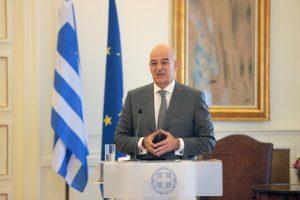 Η Ελλάδα επιθυμεί ανοικτούς διαύλους επικοινωνίας με Τουρκία στο πλαίσιο του διεθνούς δικαίου, είπε ο Ν. Δένδιας