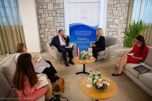 Συναντήσεις της Προέδρου της Βουλής στο πλαίσιο της 14ης Διάσκεψης των Προέδρων των Κοινοβουλίων των Μικρών Κρατών Ευρώπης