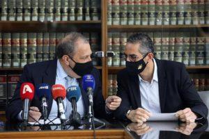 Στις εργασίες της 15ης Συνάντησης του Συμβουλευτικού Φόρουμ των Γενικών Εισαγγελέων και των Προϊσταμένων των Ποινικών Διώξεων των κρατών μελών της Ε.Ε., ο Γενικός και ο Βοηθός Γενικός Εισαγγελέας