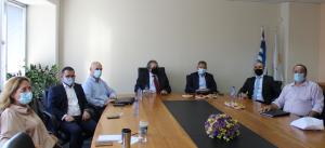 Συνάντηση του Παγκύπριου Δικηγορικού Συλλόγου (ΠΔΣ) με τον Σύνδεσμο Εγκεκριμένων Λογιστών Κύπρου (ΣΕΛΚ)